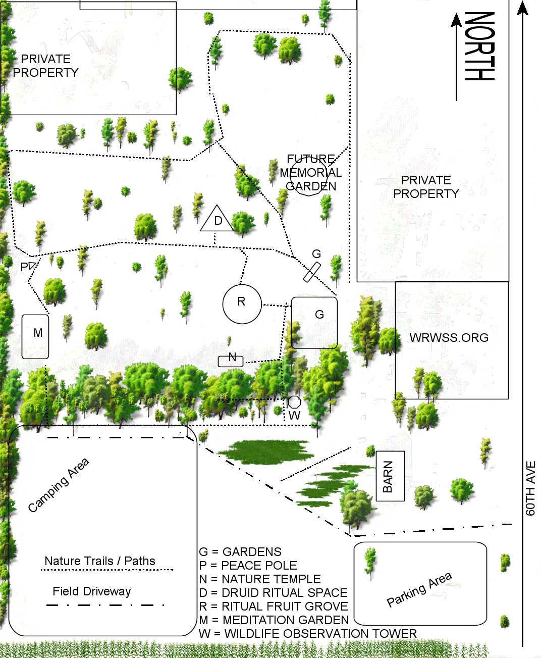 Remus Michigan Map.Wolf Run Wildlife And Spiritual Sanctuary Remus Michigan